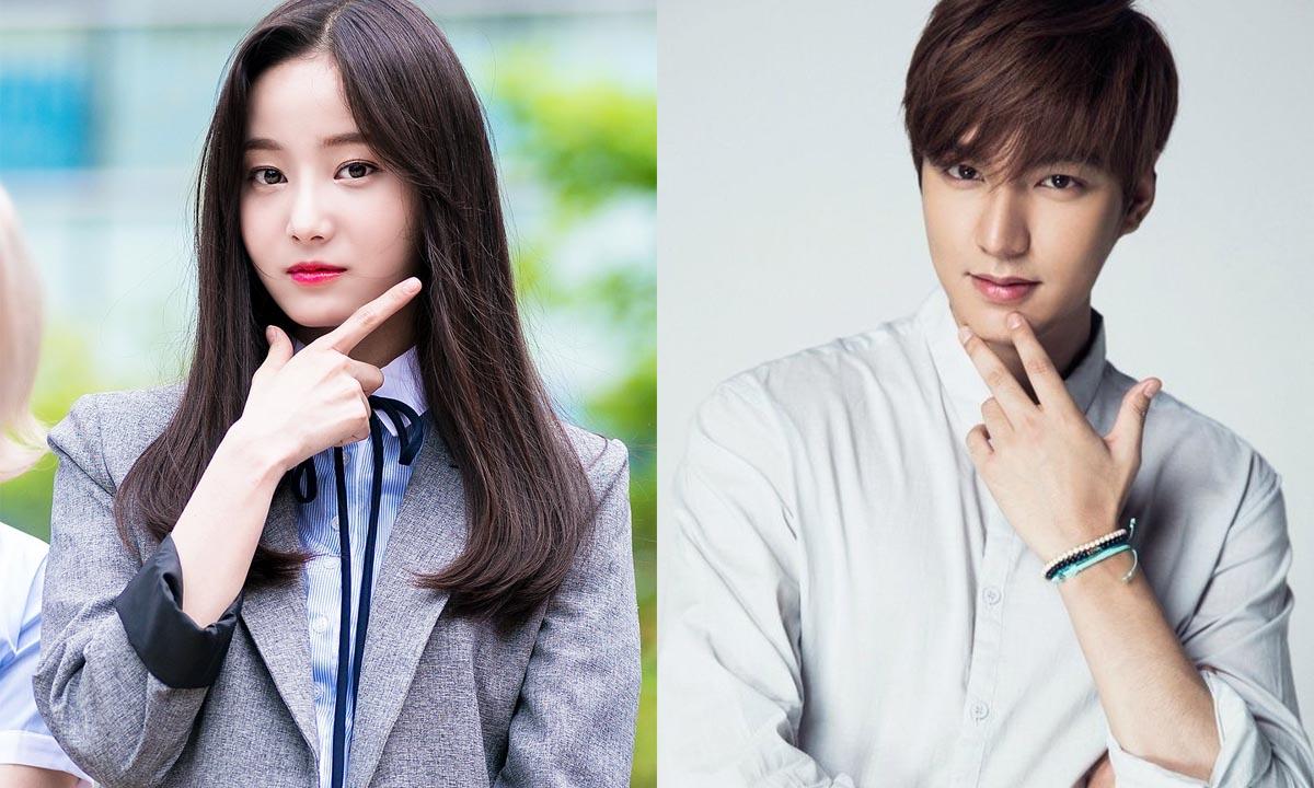 La agencia de Yeonwoo desmiente los rumores de una relación con Lee Min Ho