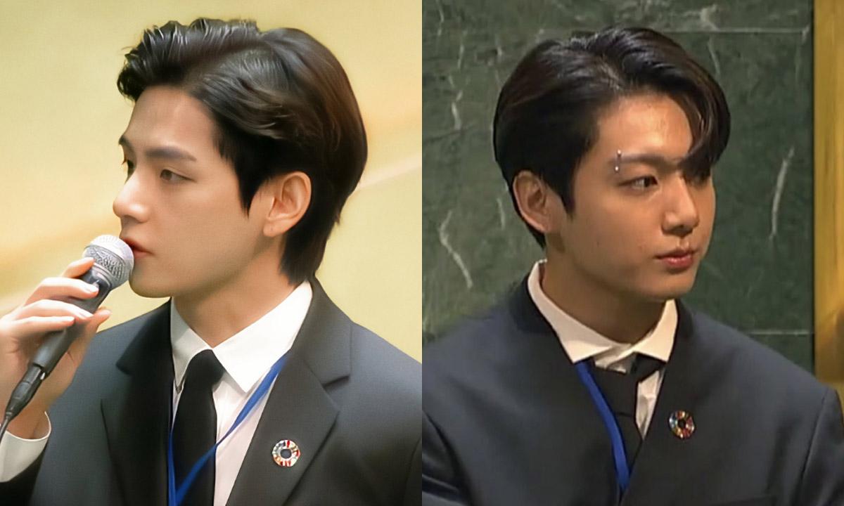 Los emotivos mensajes de Jungkook y V en la Asamblea General de la ONU